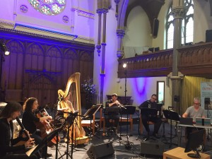 Ensemble Studio6 at audiograft festival, Oxford, 2018